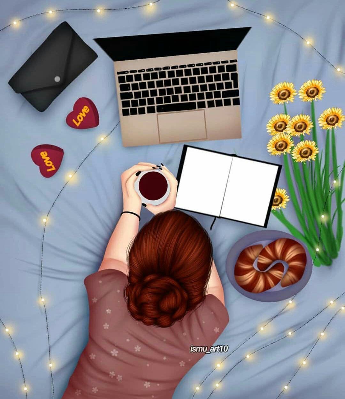 Pin By Suray Montserrat On Lovely Art ʖ Cute Girl Wallpaper Cute Girl Drawing Sarra Art