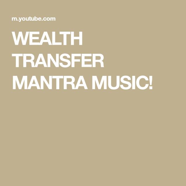 WEALTH TRANSFER MANTRA MUSIC! | Deep sleep meditation ...