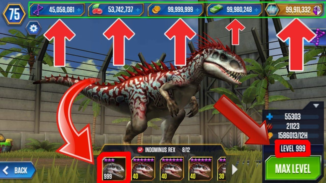 download jurassic park builder mod offline