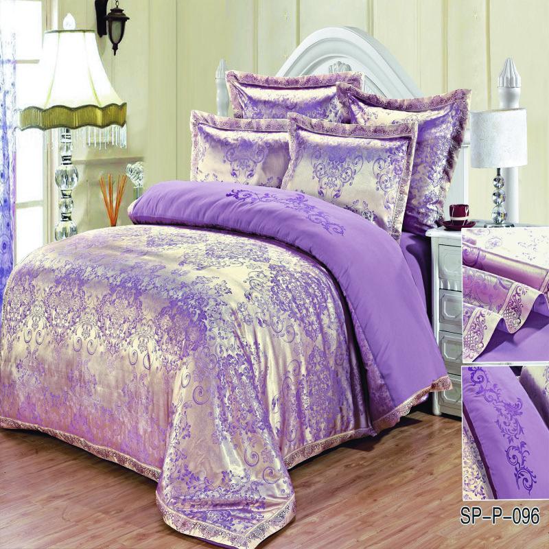 fashion quality cotton bedding set queen size jacquard duvet cover bedsheet pillowcase 4 7 pcs