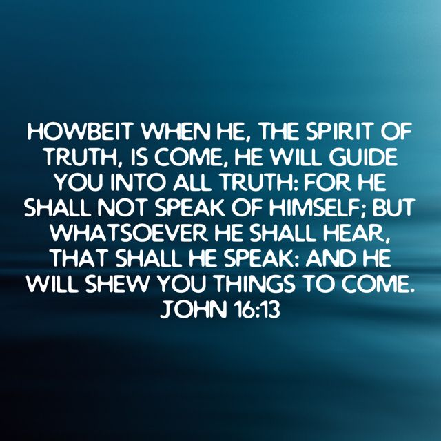 Pin by Jacqueline Nelson on GOD'S WORD Spirit of truth