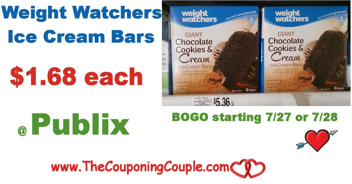 Weight Watchers Ice Cream $1.68 @ Publix starting 7/27 or 7/28 for some. Get your coupons ready for this coming Guilt-Free Ice Cream Deal **  Click the link below to get all of the details ► http://www.thecouponingcouple.com/weight-watchers-ice-cream-1-68-publix-2/ #Coupons #Couponing #CouponCommunity  Visit us at http://www.thecouponingcouple.com for more great posts!