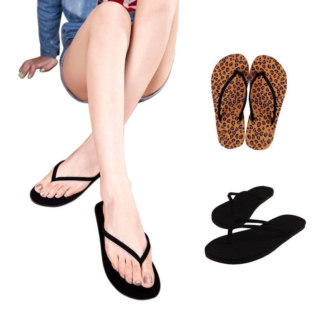 Best Gift New Fashion Women Summer Flip Flops Shoes Sandals Slipper indoor & outdoor Flip-flops Bea6624