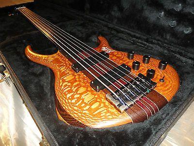 '94 TOBIAS SIGNATURE custom FRETLESS 6 bass