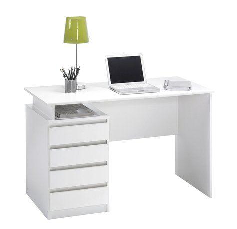 jysk skrivebord hvid