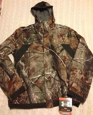 Under armour stealth hunting rain jacket