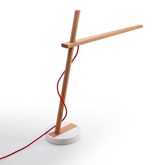Clamp Mini Table Lamp | Abajur, Lampada