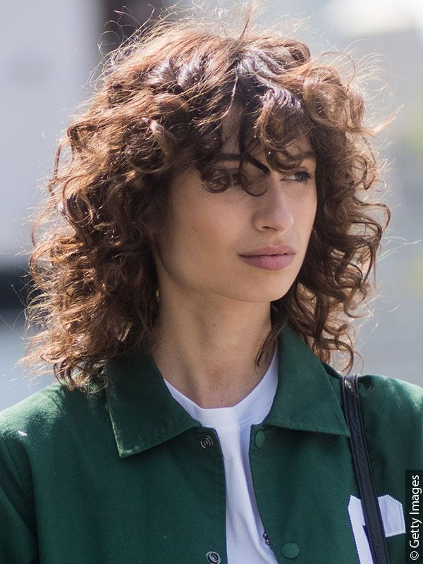 19+ Mullet for curly hair ideas in 2021