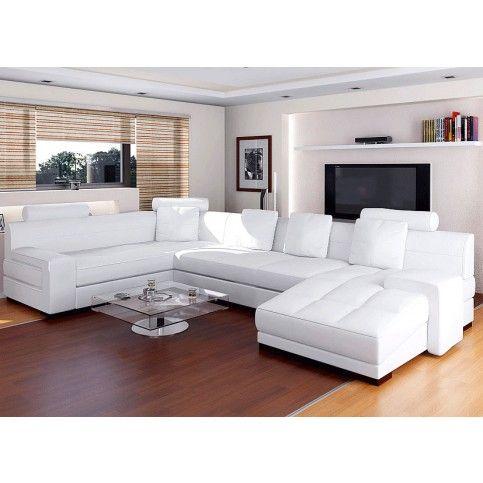 Urbano White Leather Sectional Sofa Set Rsf Wedding