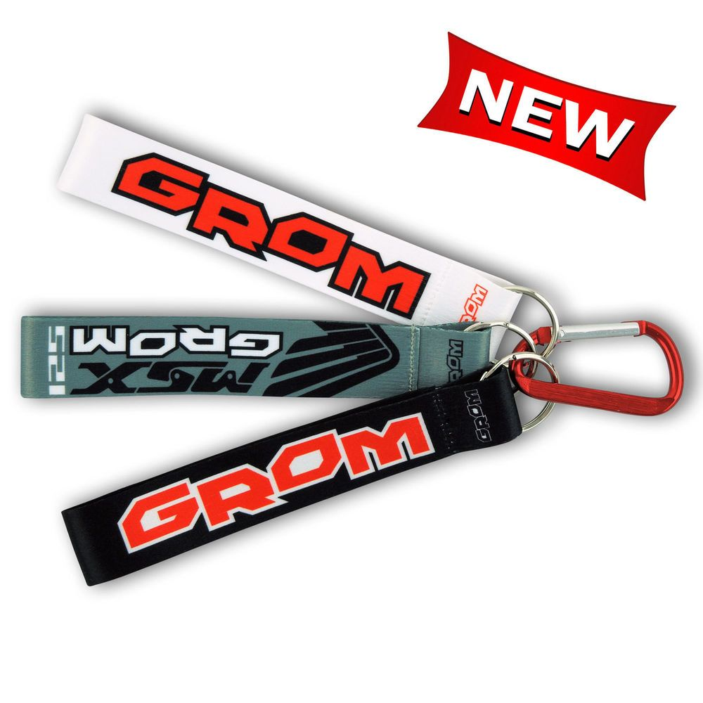 Details about Grom 125 Pocket Wrist Lanyard Keychain with Carabiner