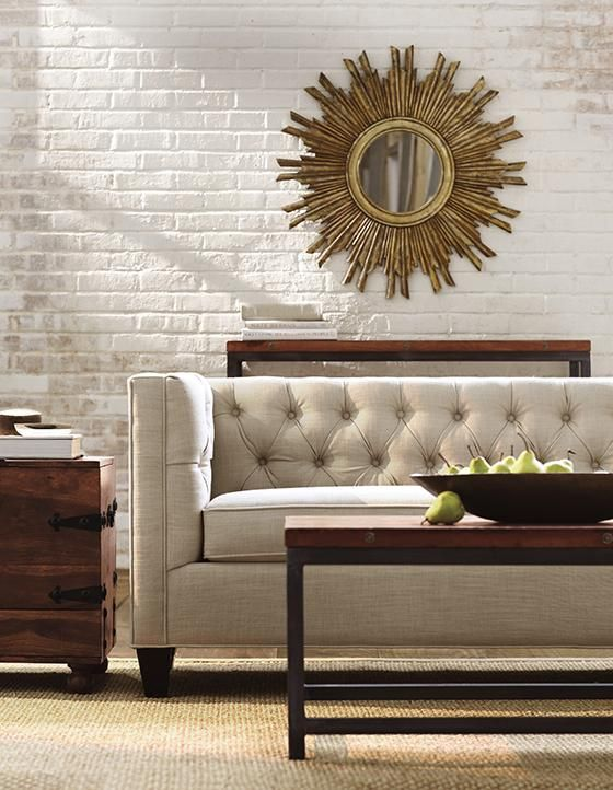 Lakewood Tufted Sofa Home Decorators 859 For 70 Inch 325 E High Pinterest Home Pearls And Tufted Sofa