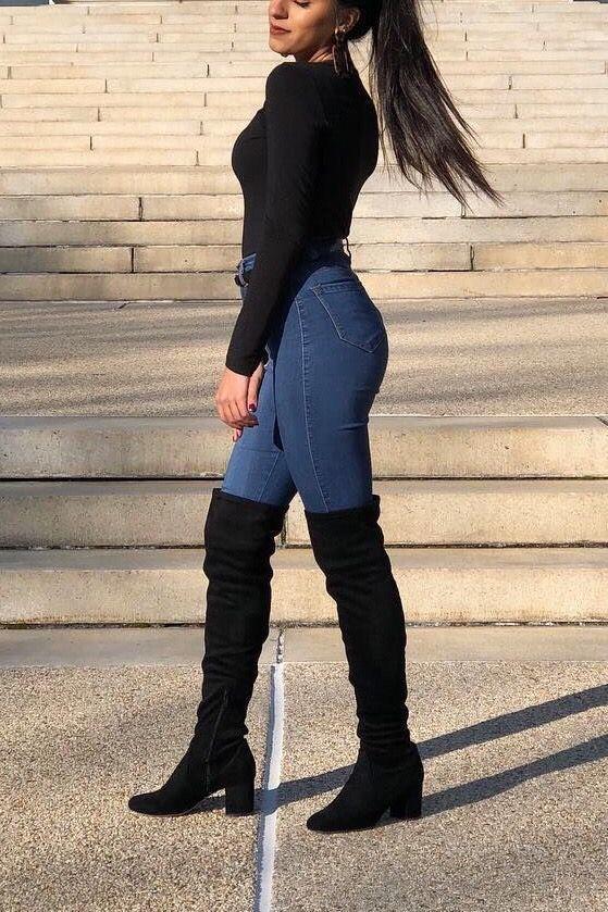 5 estilos de botas altas de mujer para usar este invierno