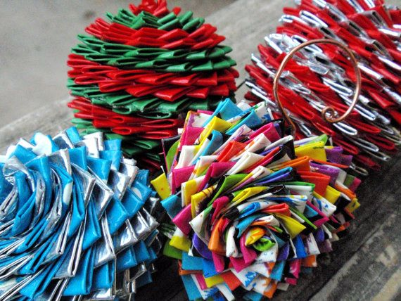 12 Clever Uses for Duct Tape - Christmas tree ornaments! - 12 Clever Uses For Duct Tape Duct Tape Pinterest Duct Tape