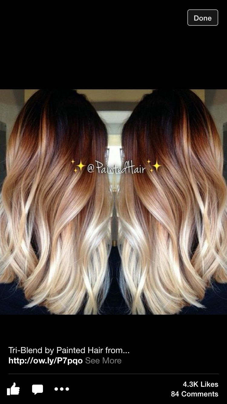 Balayage Hair Ombre