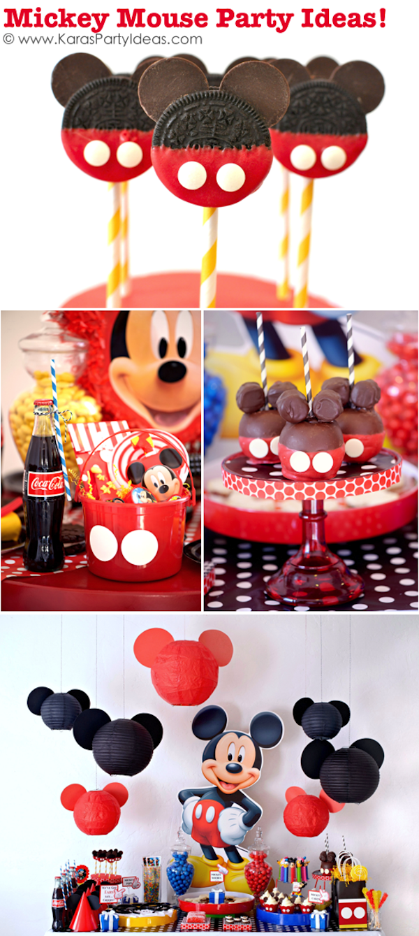 TONS Of Mickey Mouse Party Ideas Via Karas KarasPartyIdeas Supplies Decorations Birthday Cake Favors