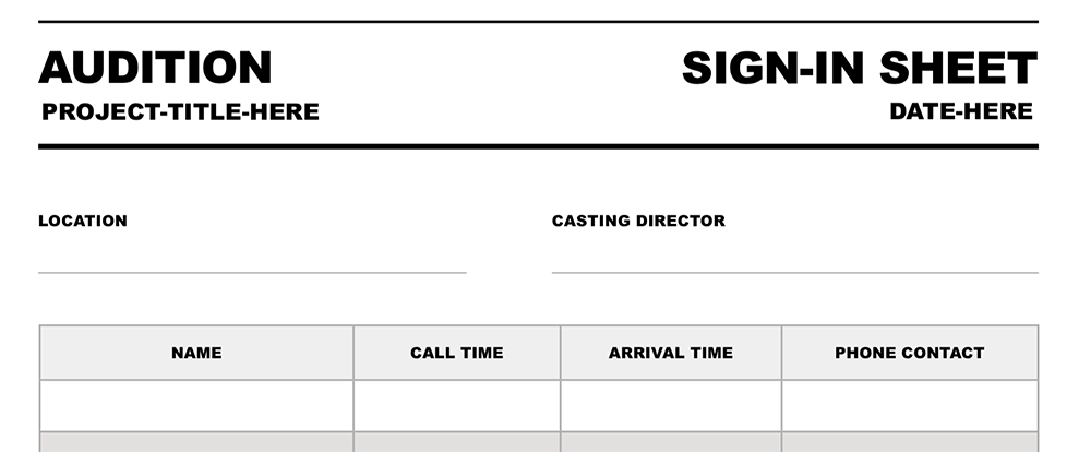 Free Storyboard Template For Film And Video Projects  Video