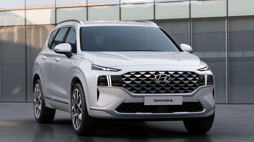 View Photos of the 2021 Hyundai Santa Fe in 2020 Hyundai