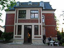 the Villa Silberblick in Weimar for the Nietzsche Archive
