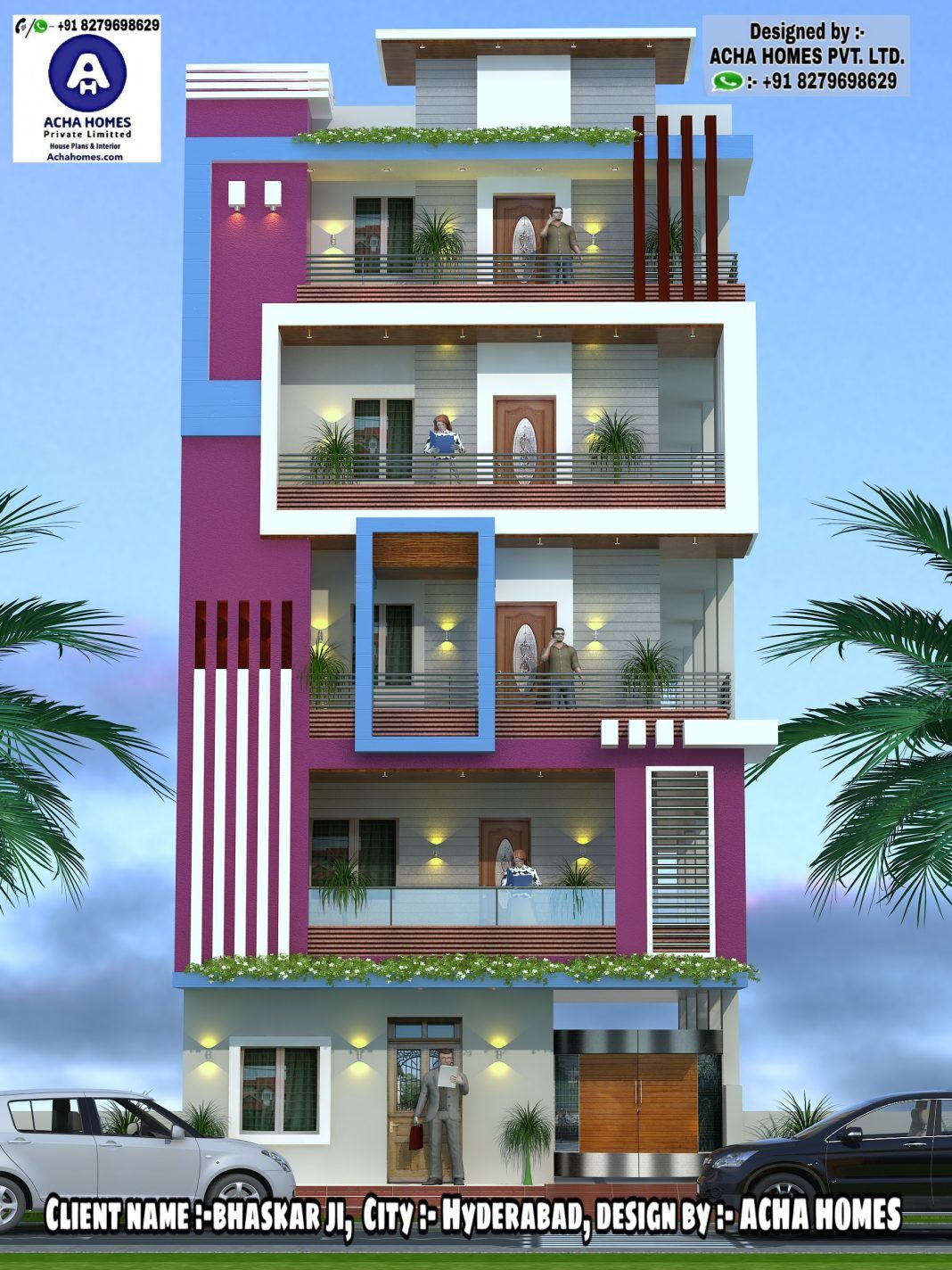 Top 12 Indian 3D Front Elevation Home Design Everyone Will ...