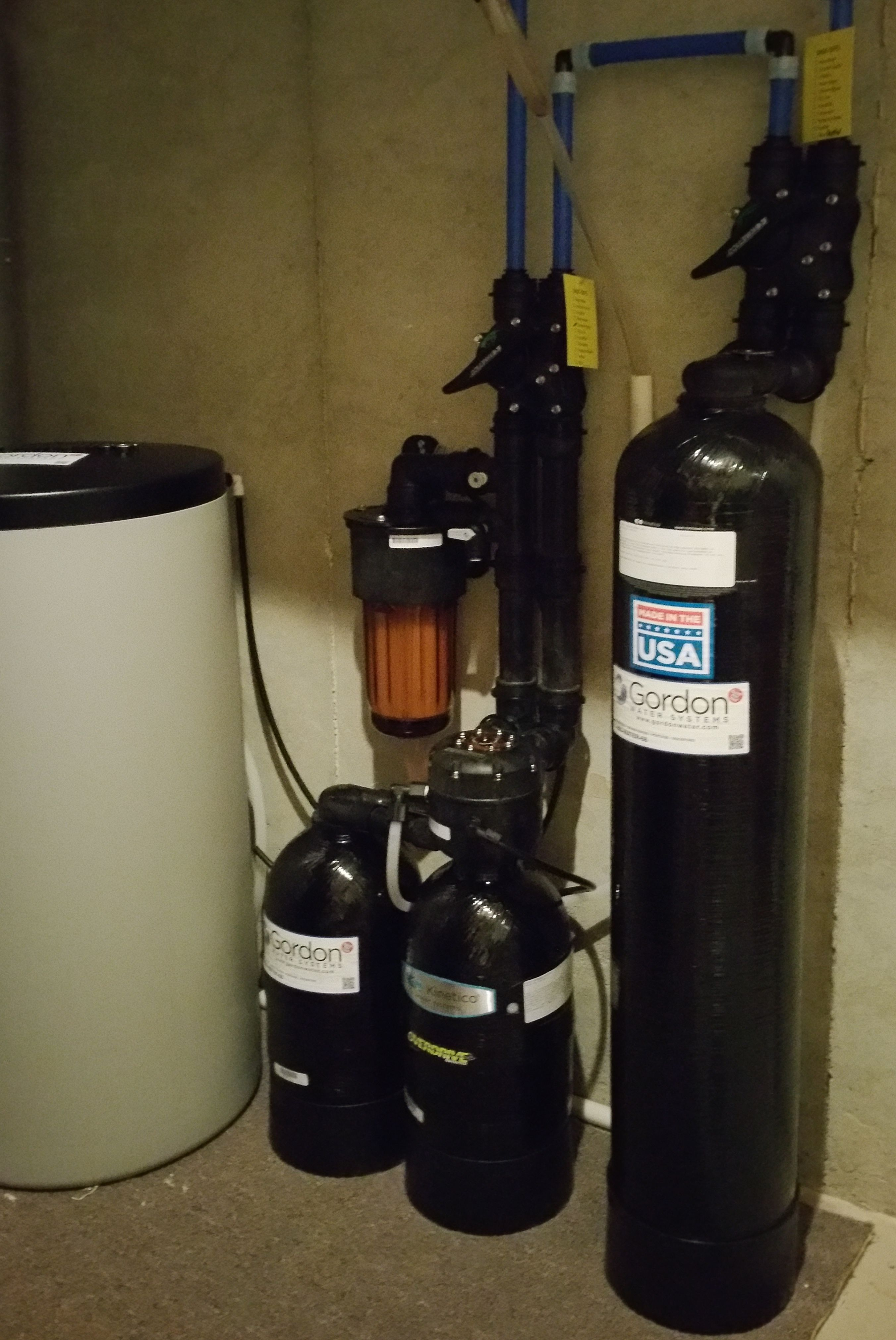 Dechlorinator And Water Softener Watertreatment Softwater