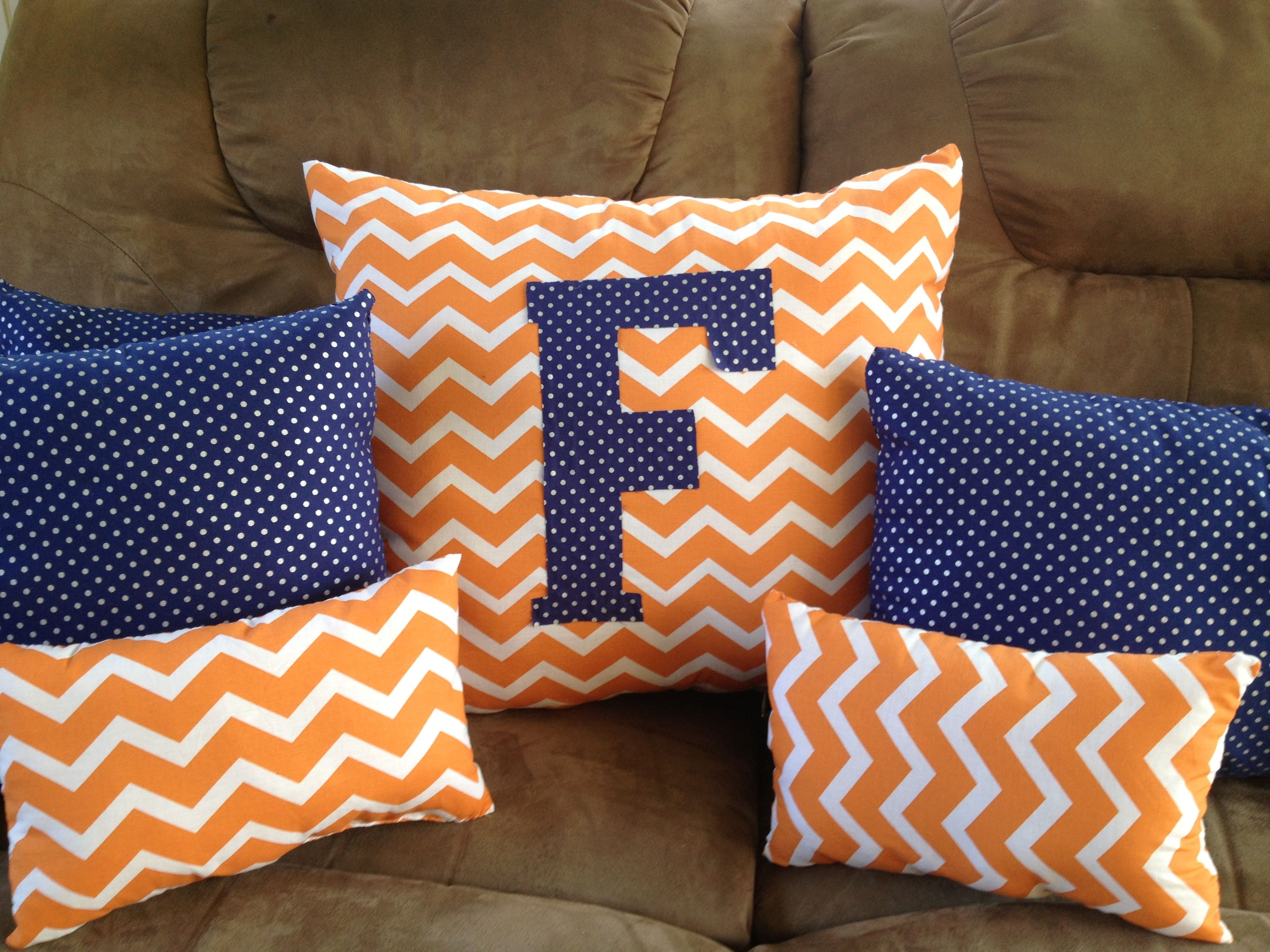 Florida Gator Pillows Made Them Last Night.