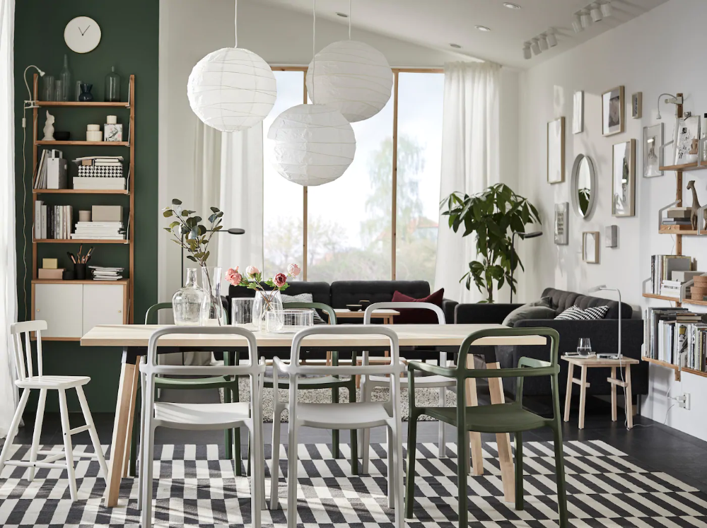 A naturally Scandinavian dining room IKEA Singapore in