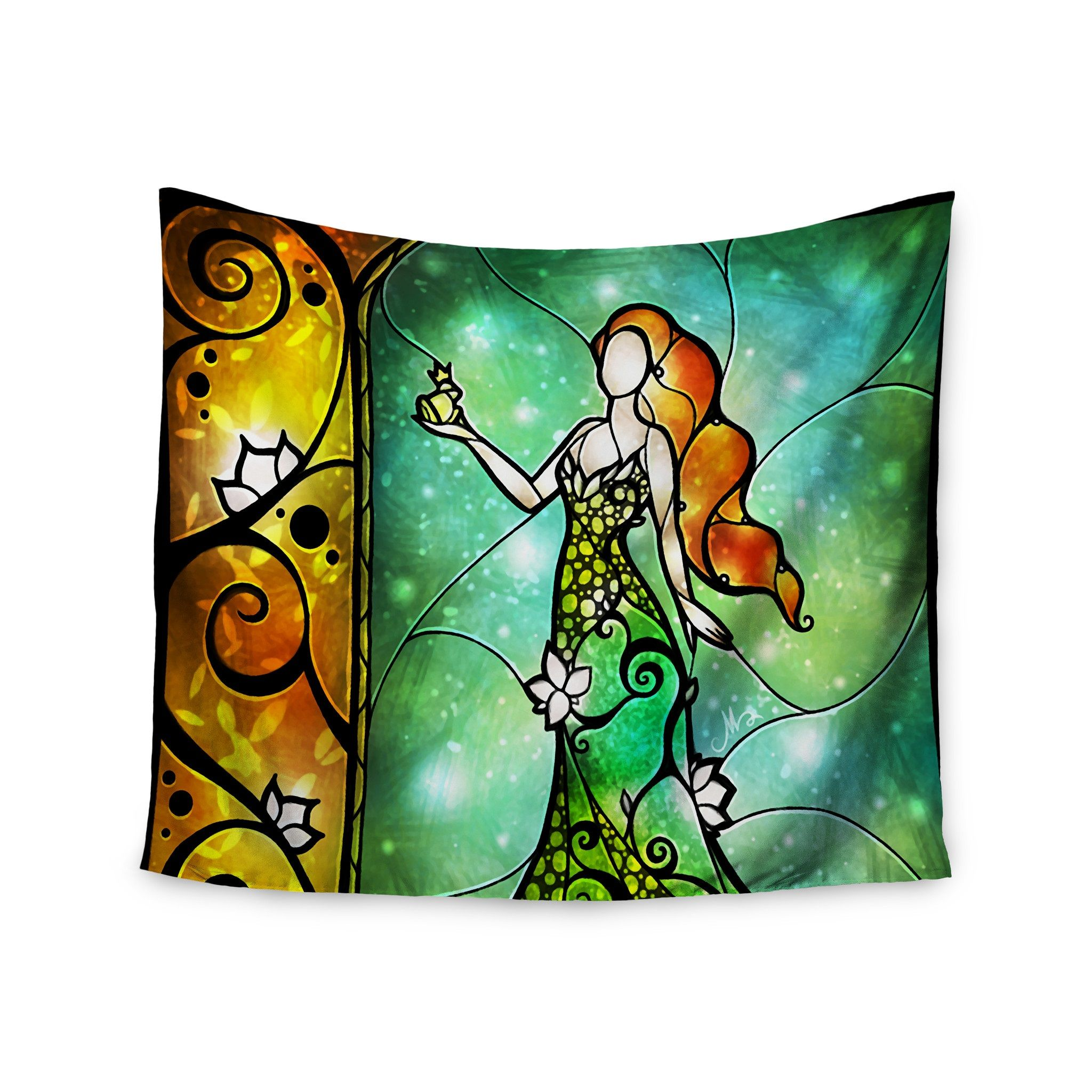 tapestry pillow covers fairy-tale characters
