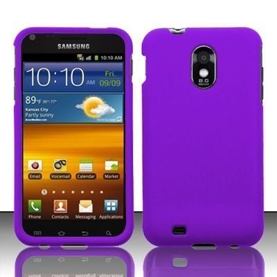 Samsung Epic Touch 4G D710 & Galaxy S2 Sprint Rubberized Purple HARD PROTECTOR COVER CASE SNAP ON PERFECT FIT by VanMobileGear, http://www.amazon.com/dp/B005ONMFQA/ref=cm_sw_r_pi_dp_35y-rb1TYM6JN