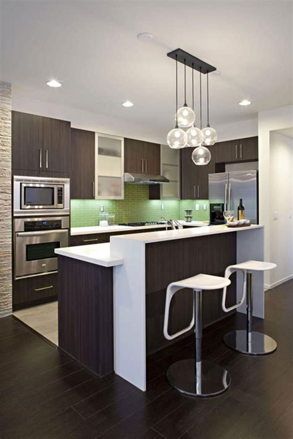 17 Charming Modern Design Ideas For Small Spaces Modern Kitchen
