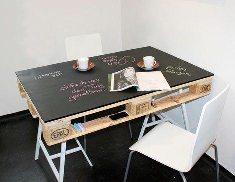 10 id es pour cr er une table basse en bois diy furniture diy home decor diy - Creer une table basse ...