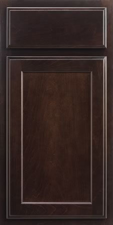 Spring Valley Maple Kona Cabinets  Kitchen Height In Bathrooms