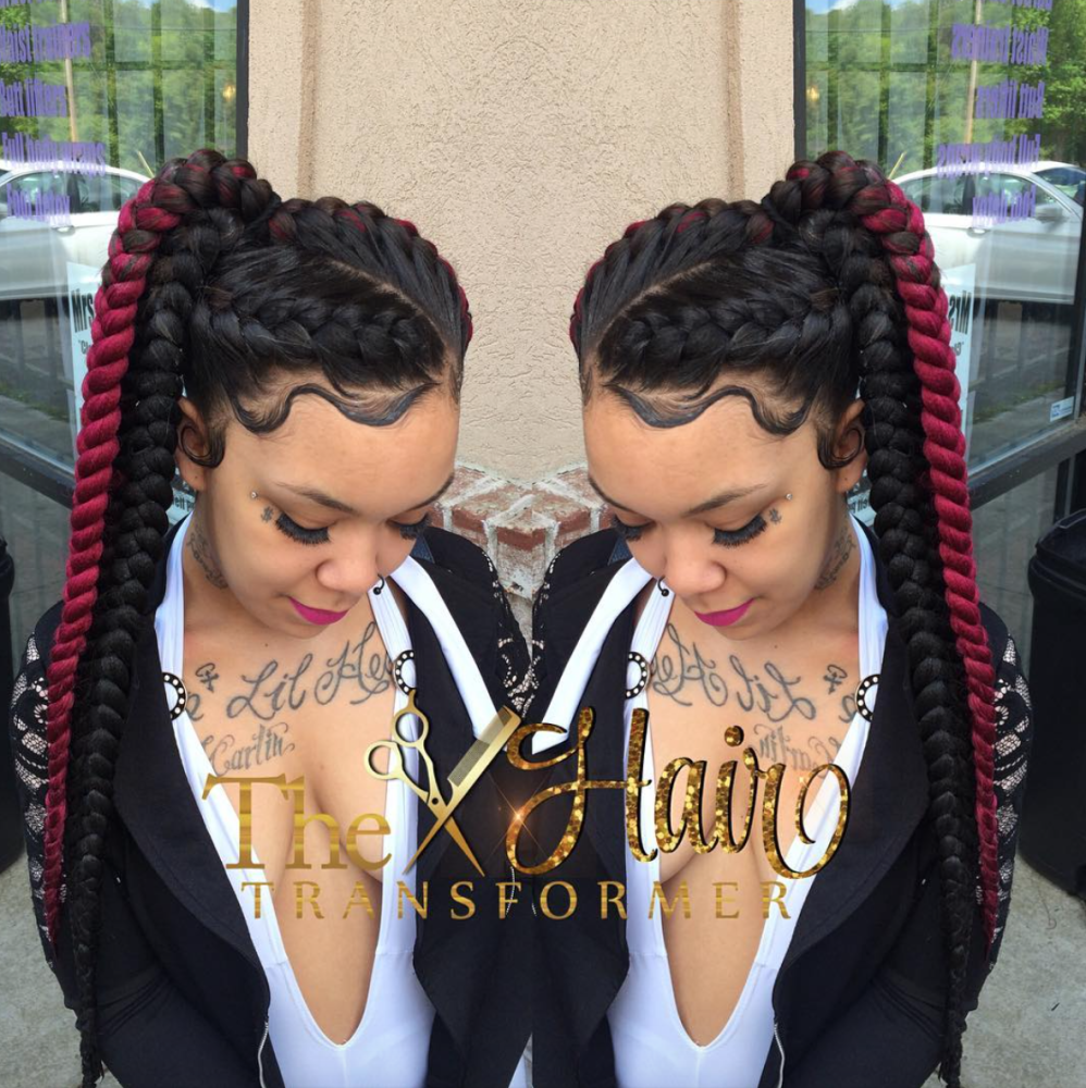 Love this braided pony by thehairtransformer  httpcommunity