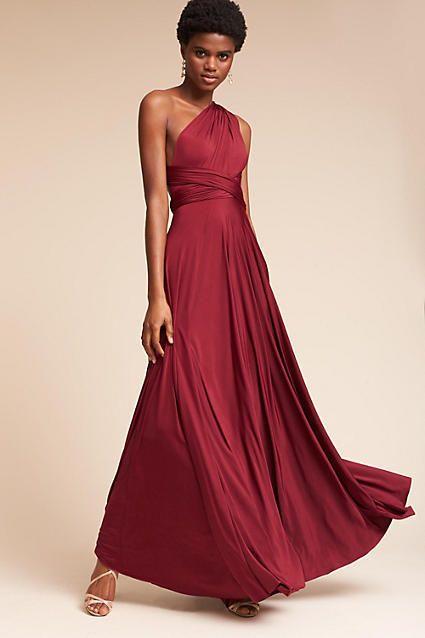 875d1303a59c Anthropologie Ginger Convertible Maxi Wedding Guest Dress