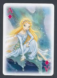 """Résultat de recherche d'images pour """"Vintage Fairies Playing/Swap Card"""""""