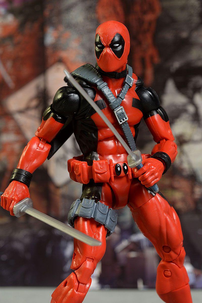 Deadpool marvel legends movie action figure review