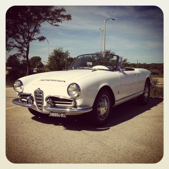 Vintage Alfa at our Make a Wish Car and Motorcycle Show