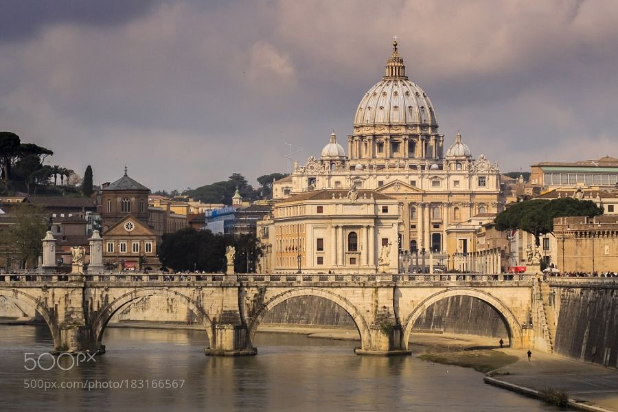 Popular on 500px : Basilica Sancti Petri by intrepidphotos