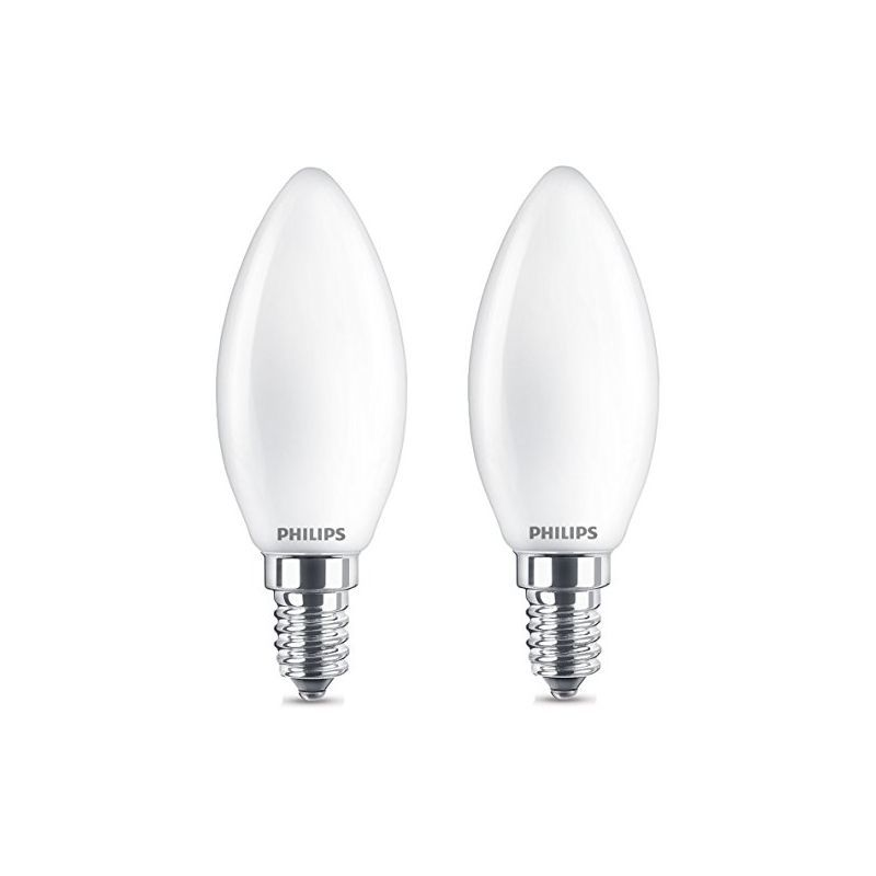 Osram 4w E14 SES Frosted Filament 2700k Warm White Candle light Bulb lamp