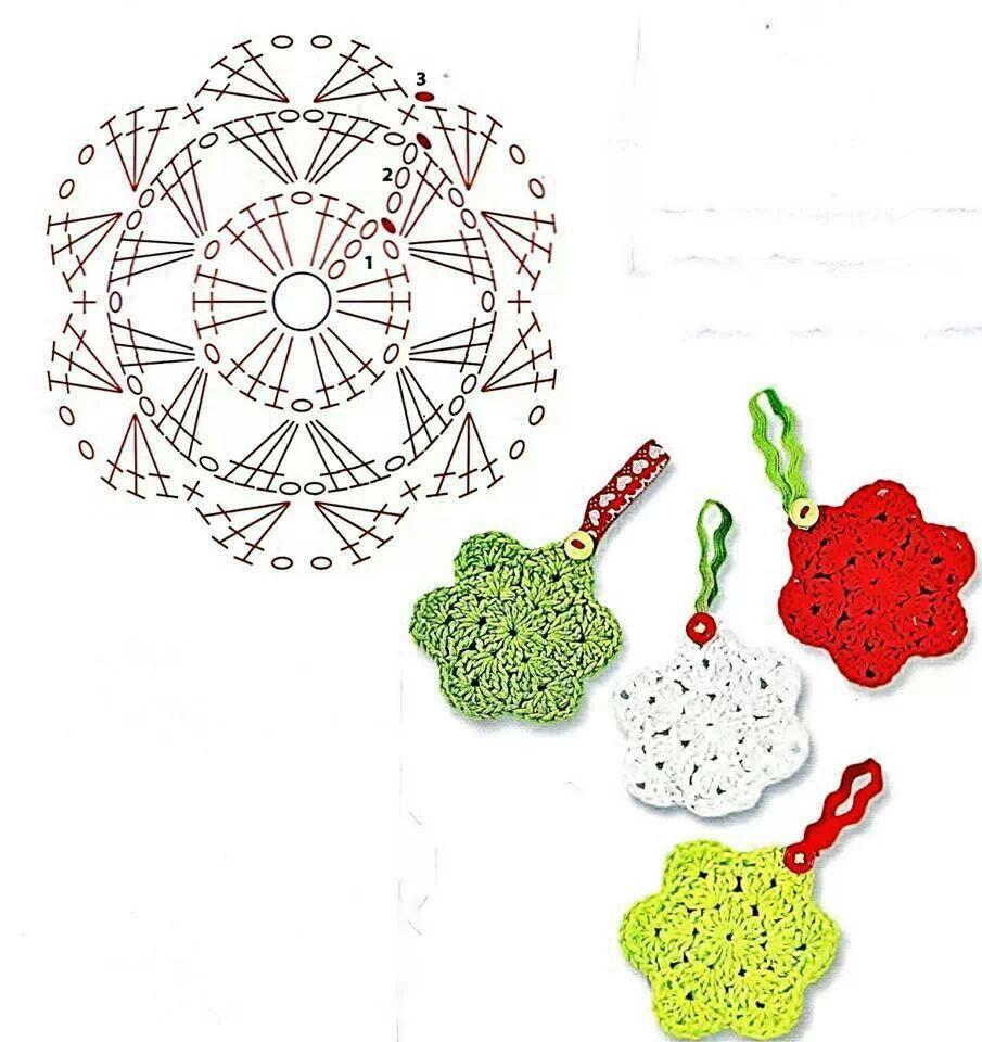 crochet pattern rose for hair ✿⊱╮Teresa Restegui http://www ...