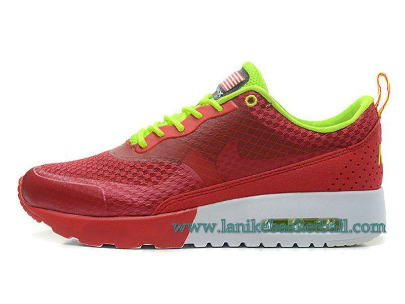 innovative design 842ce c2ba0 Nike Air Max Thea Print Chaussures De Course Pour Femme Fille Rouge Vert  627269-600-Boutique La Nike Basket-Ball,Officiel Nike Chaussures En Ligne!