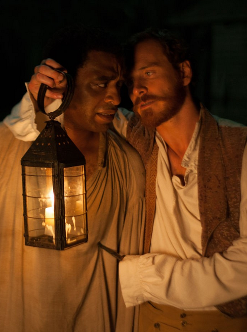 """Chiwetel Ejiofor, Michael Fassbender - """"12 Years A Slave"""", 2013. °"""