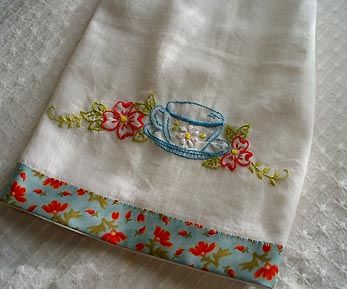 Cute -- just added a jelly roll strip to the bottom.
