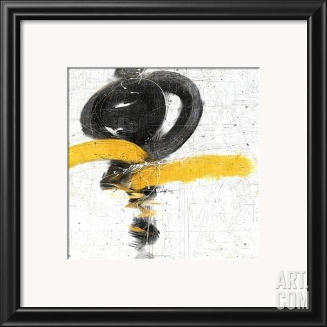 Zen in Yellow I Framed Art Print at eu.art.com