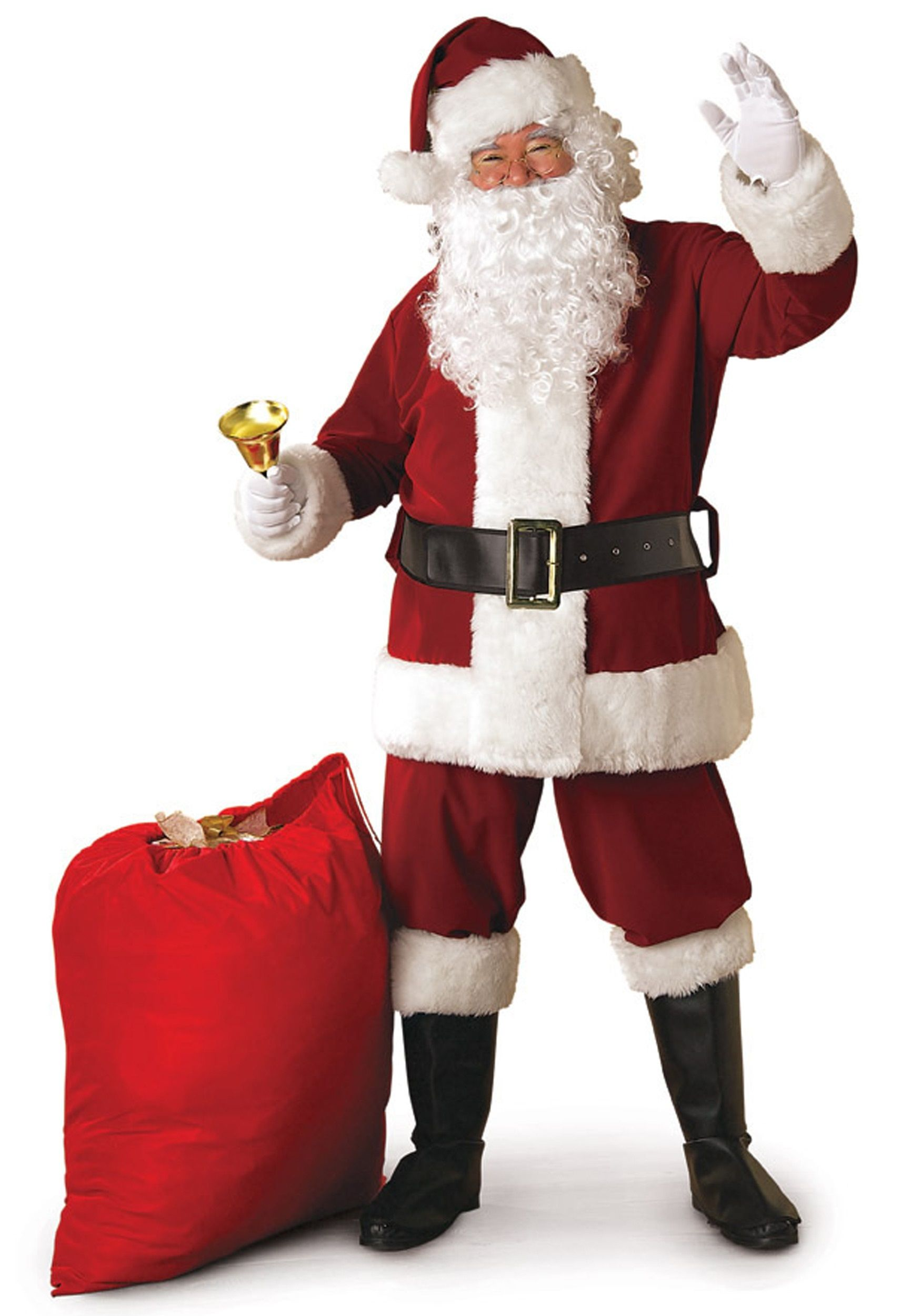 Saint Nicholas Hat Red Adult Mens Christmas Fancy Dress