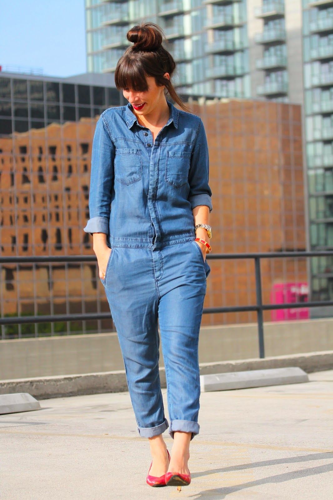 bcc6556aa76 Denim outfit for the new season have become a real hit.
