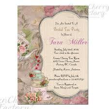 Wedding Afternoon Tea Invitation Wording Google Search Bridal
