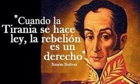 Simon Bolivar Buscar Con Google Citas Políticas Simon