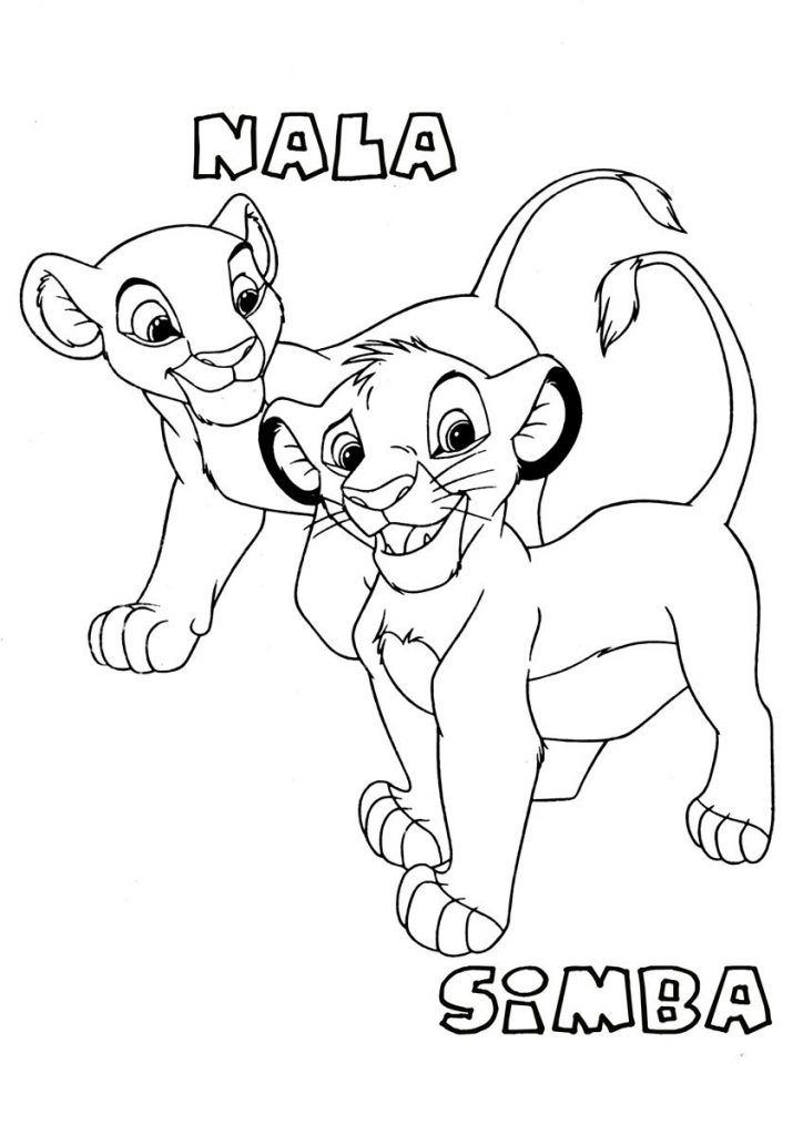 Lion King Coloring Pages Coloring Pages To Print For Road Trips