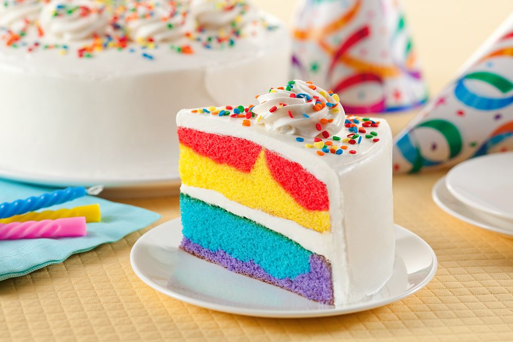 Rainbow Blast Cake Available At Walmart Fun Festive Cake Comes In