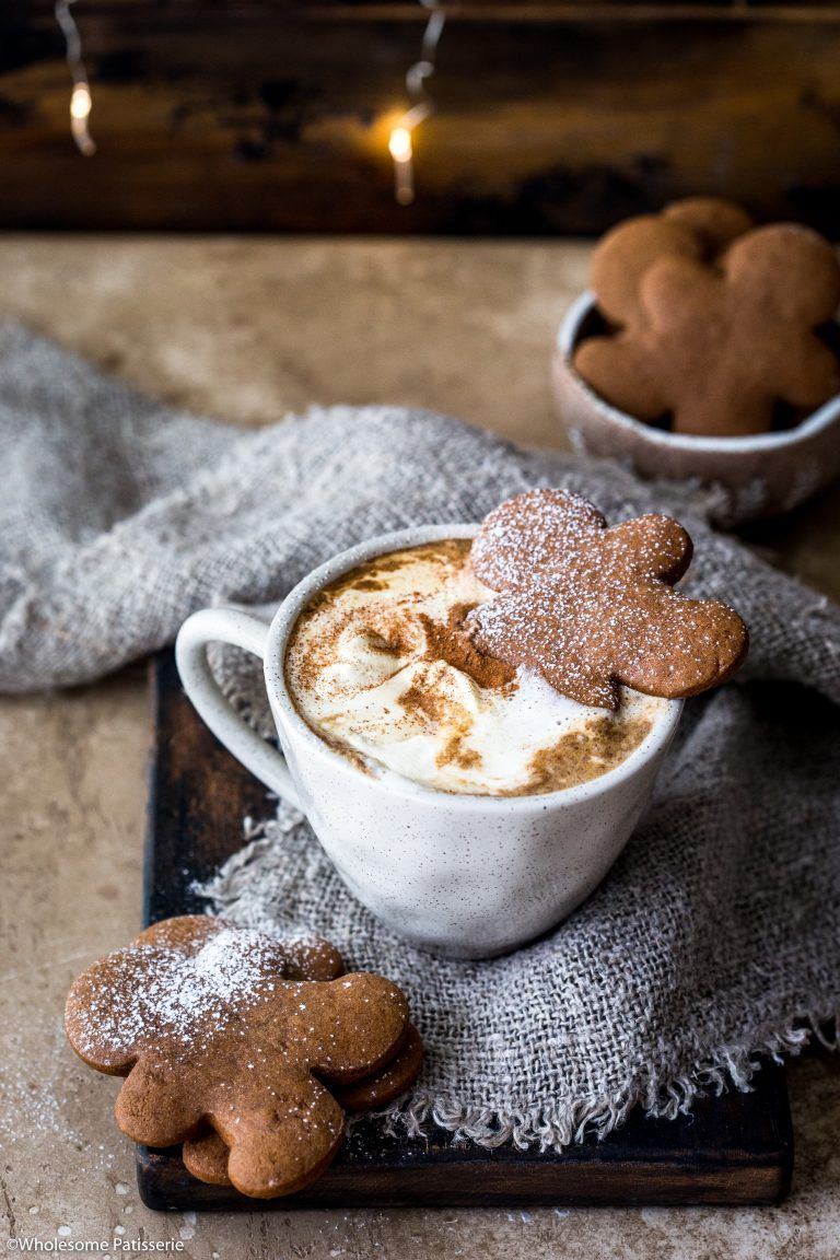 Gingerbread Latte Recipe Gingerbread latte, Homemade latte